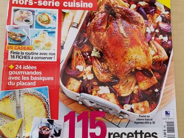 Recettes d 39 automne for Maxi hors serie cuisine
