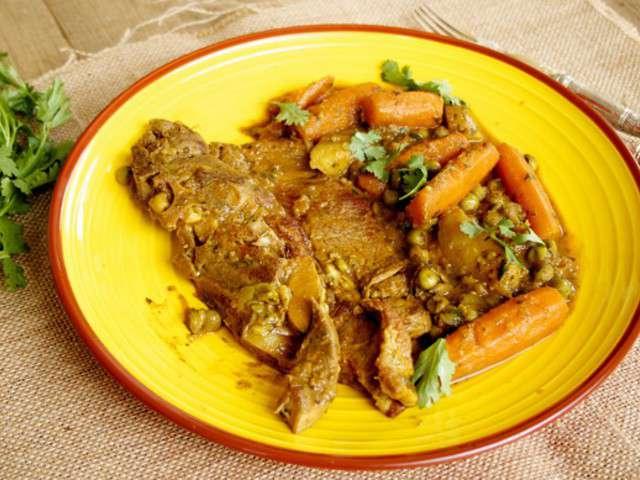 Tajine de tendrons de veau aux carottes pommes de terre et - Cuisiner le tendron de veau ...