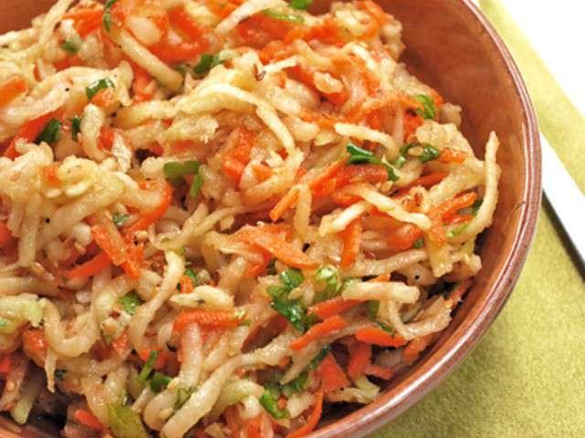 Les meilleures recettes de salades et carottes - Cuisiner du chou chinois ...