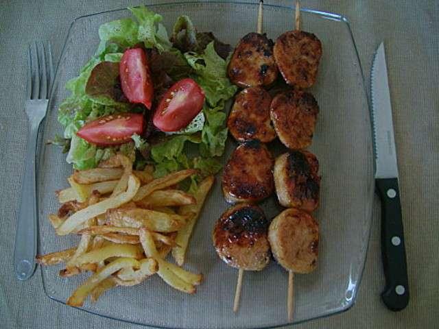 Les meilleures recettes d 39 andouillettes et brochettes - Cuisiner des andouillettes ...
