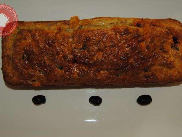 Mini Cake Chorizo Olives Noires