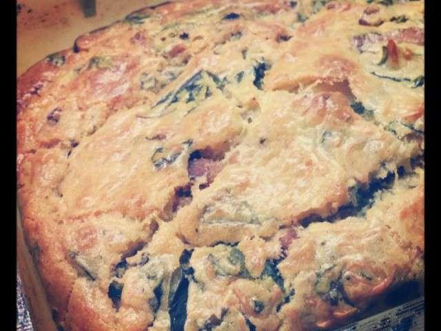 Cake Aux Blettes Et Lardons