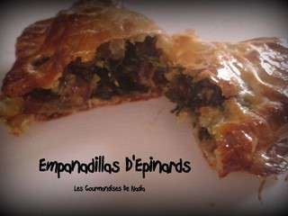 Empanadillas d'epinards