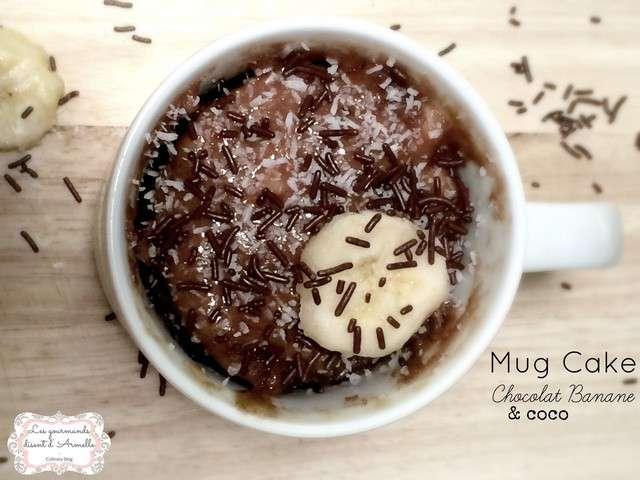 Mug Cakes A La Banane