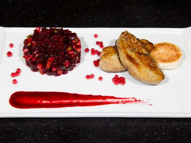 Recettes de foie gras po l et pomme - C est au programme recettes de cuisine ...