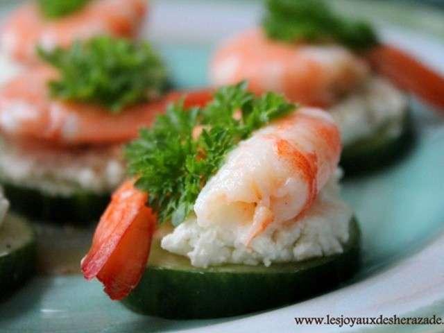 Les meilleures recettes d 39 entr es et crevettes for Entree fraicheur rapide