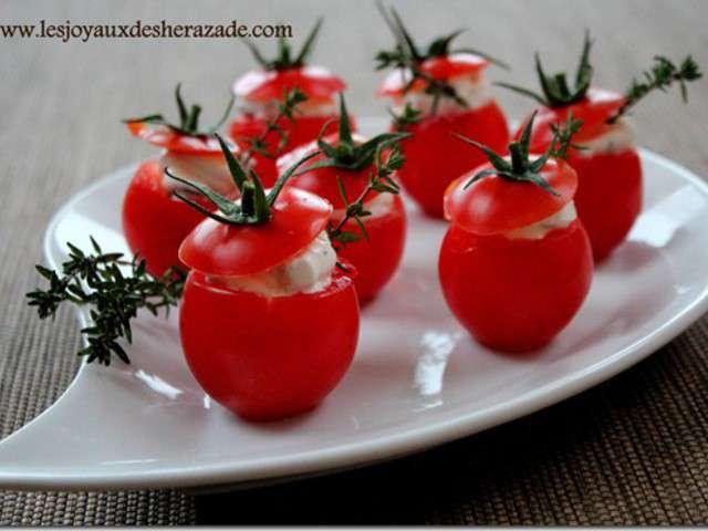Recettes d 39 ap ro dinatoire et tomates cerises - Amuse bouche rapide pour apero ...