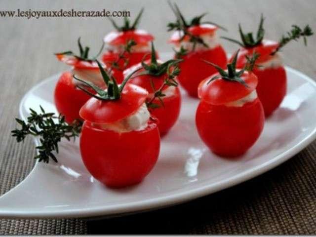 Les meilleures recettes de tomates cerises et ap ritif - Amuse bouche rapide pour apero ...