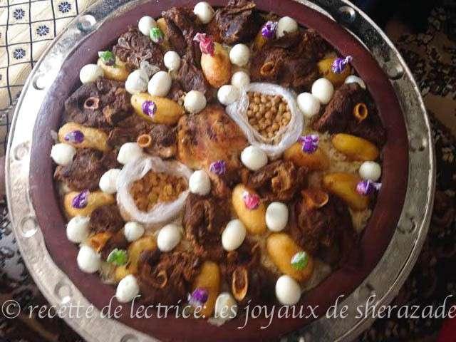 Recettes de chakhchoukha de les joyaux de sherazade for Notre cuisine algerienne