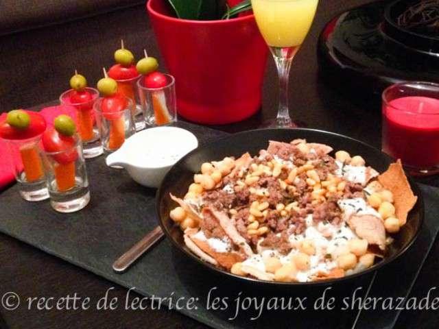 Recettes de liban et accompagnement for Accompagnement cuisine