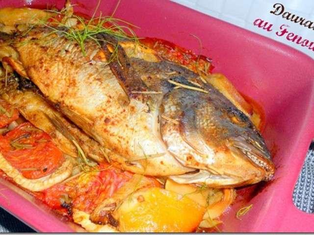 Les meilleures recettes de dorade et poisson - Cuisiner le fenouil au four ...