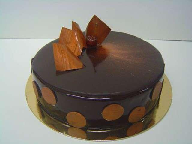 Entremet chocolat glacage for Miroir des joyaux
