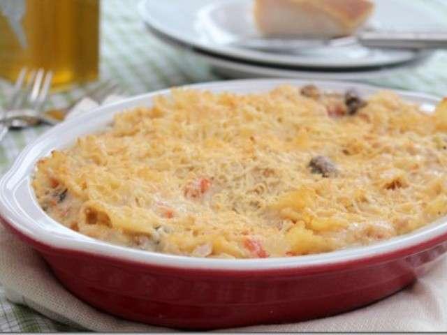 Les meilleures recettes de gratin de pates et cuisine facile - Gratin de pates facile ...