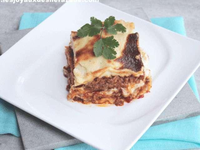 recettes de lasagnes la bolognaise et plats. Black Bedroom Furniture Sets. Home Design Ideas