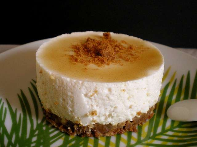 Recettes de sp culoos et cheesecake 4 - Cheesecake sans cuisson speculoos ...