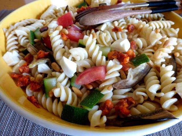 les meilleures recettes de salade de p 226 tes et mozzarella