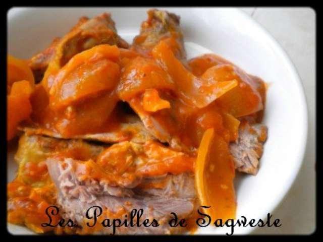 Les meilleures recettes de palette et tomates - Cuisiner la palette de porc ...