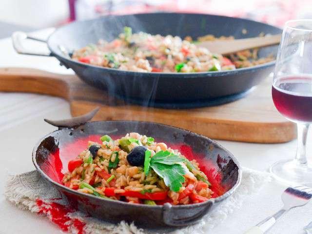 les meilleures recettes de paella et cuisine v g tarienne. Black Bedroom Furniture Sets. Home Design Ideas