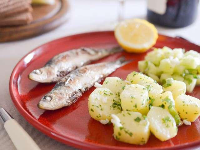 Recettes de sardines et ail - Cuisiner des filets de sardines fraiches ...