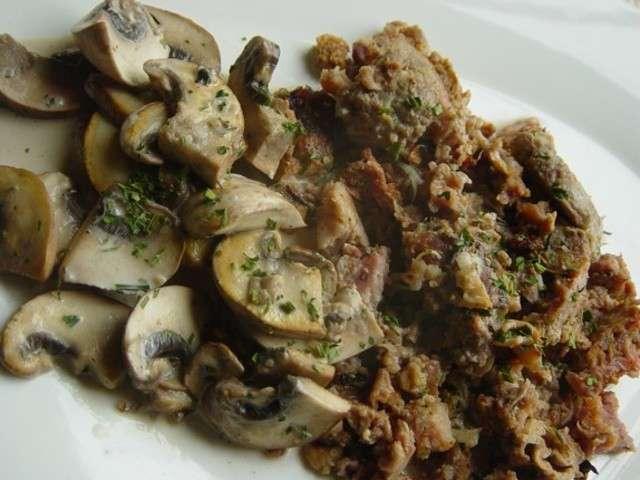 Recettes d 39 andouillettes et champignons - Cuisiner des andouillettes ...