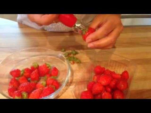 recettes de fraises de les petites id es culinaires de chris andco. Black Bedroom Furniture Sets. Home Design Ideas
