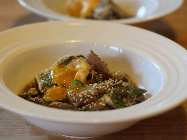 Recettes de chou chinois et ufs - Cuisiner le chou chinois cuit ...