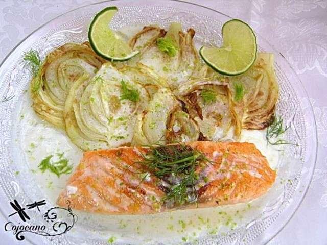 Recettes de pav de saumon et sauce citron - Cuisiner fenouil braise ...