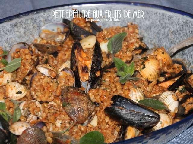 Recettes de fruits de mer et italie - Tagliatelles aux fruits de mer recette italienne ...