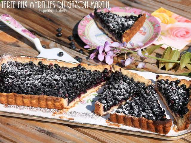 recettes de tarte aux myrtilles et myrtille 2. Black Bedroom Furniture Sets. Home Design Ideas
