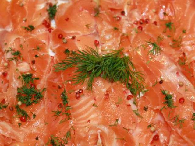 Recettes d 39 agrumes et saumon - Saumon gravlax rapide ...