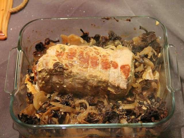 Recettes de Rôti de Porc et Champignons