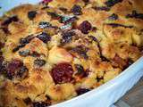 Crumble aux fruits rouges et chocolat