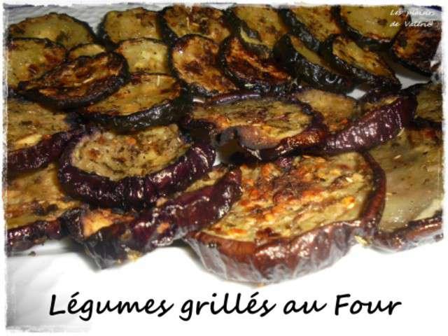 Recettes de l gumes grill s de les plaisirs de val ria - Recette legumes grilles au four ...