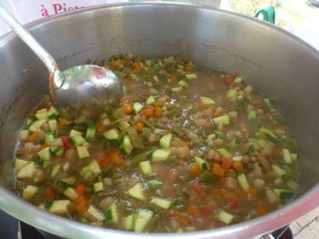 Recettes de soupe au pistou - Soupe potiron cocotte minute ...