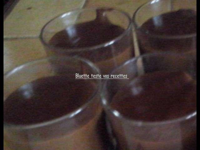 Recettes de les recettes de bluette - Creme au chocolat maison ...