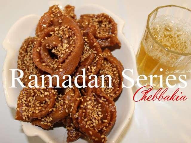 marocaine-chebbakia-gateau-marocain-au-miel-et-sesame-ramadan-series ...