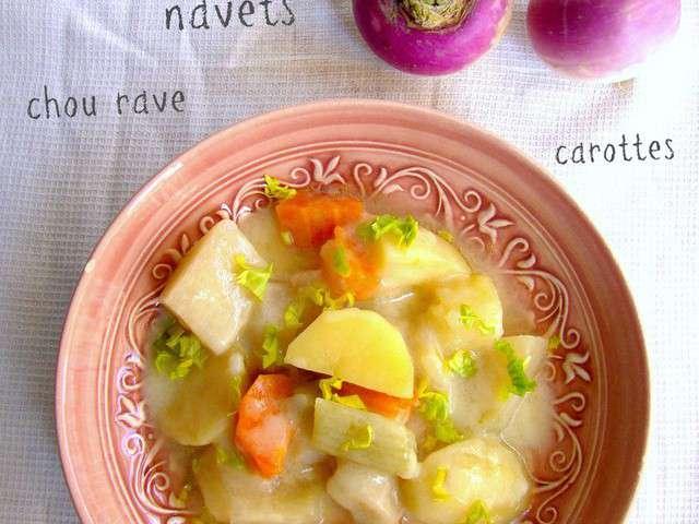 Recettes de chou rave et soupe - Cuisiner le choux rave ...