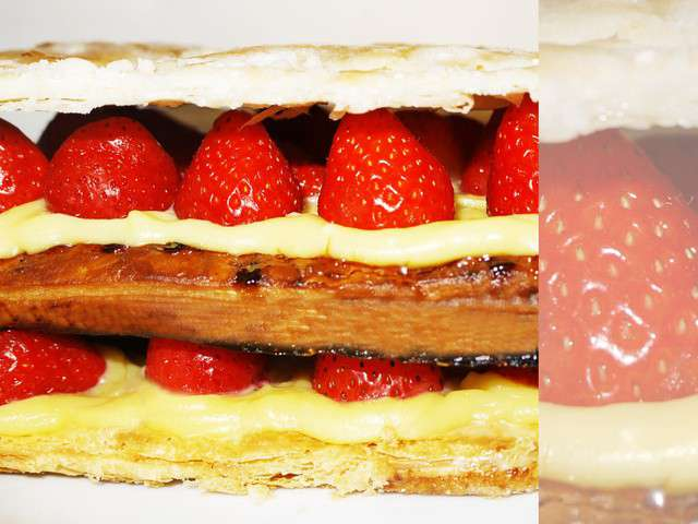 Recettes de fraises de les recettes de rima - Creme patissiere chocolat blanc ...
