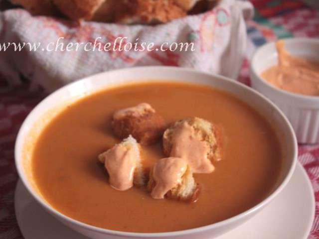 Recettes de poisson de la cuisine de sabrina - Cuisine soupe de poisson ...
