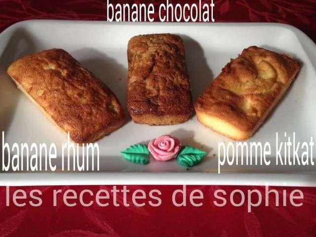 Cake  Ef Bf Bd La Banane Et Au Chocolat De Sophie