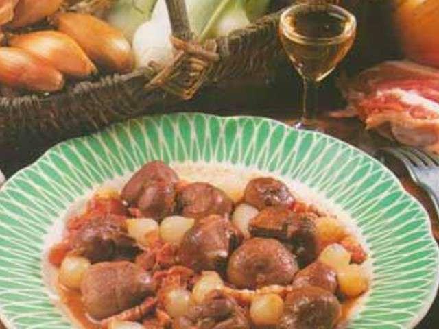 Recettes de rognons et rognons de veau - Cuisiner le veau en cocotte ...