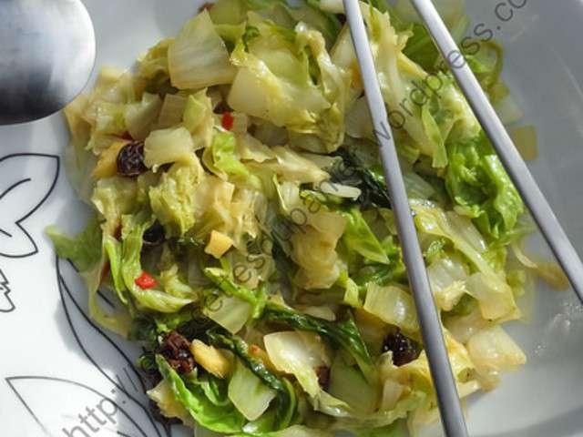 Recettes de chou chinois et po l e - Blog recette de cuisine asiatique ...