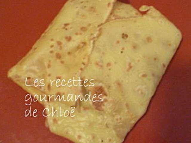 Recettes de cr pes de les recettes gourmandes de chlo - Recette crepe gourmande ...
