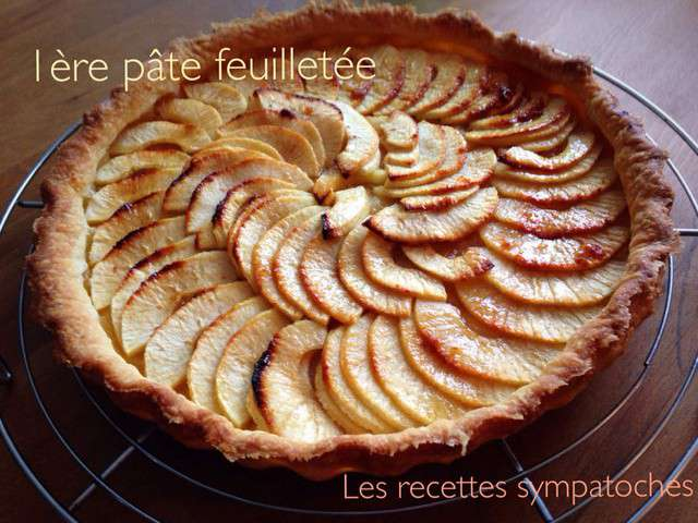 recettes de tarte aux pommes de a z. Black Bedroom Furniture Sets. Home Design Ideas