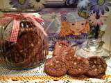 Cookies au Nutella dans le Cocking Chef / Cookies de Nutella no Cocking Chef