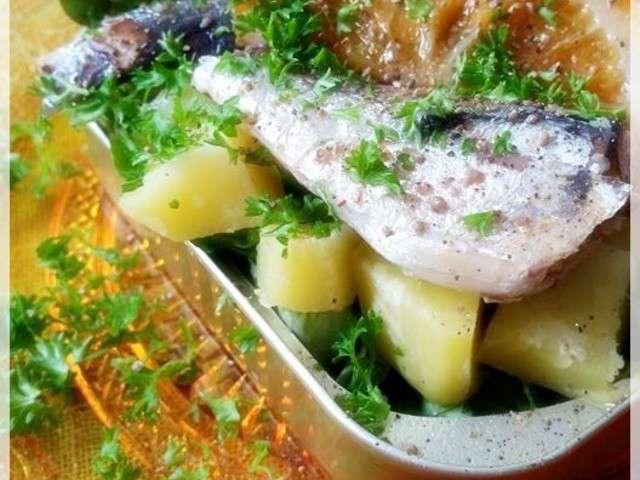Recettes de sardines de les secrets d 39 une cr toise - Sardines au four sans odeur ...