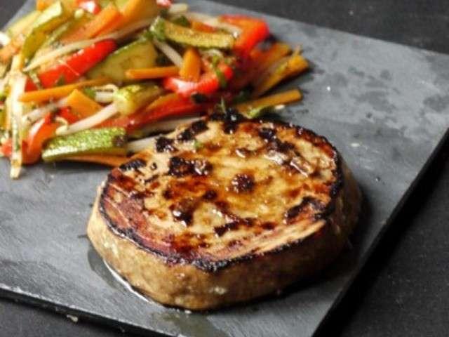 Les meilleures recettes de steak et l gumes for Legumes a la plancha