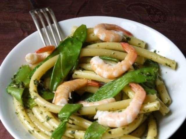 Recettes de haricots plats et crevettes - Cuisiner les haricots plats ...