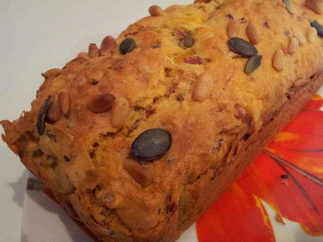 Recettes de les voyages de pim pim - Cake aux olives jambon ...