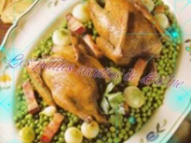 Recettes de pigeons et petits pois - Comment cuisiner les petits pois ...